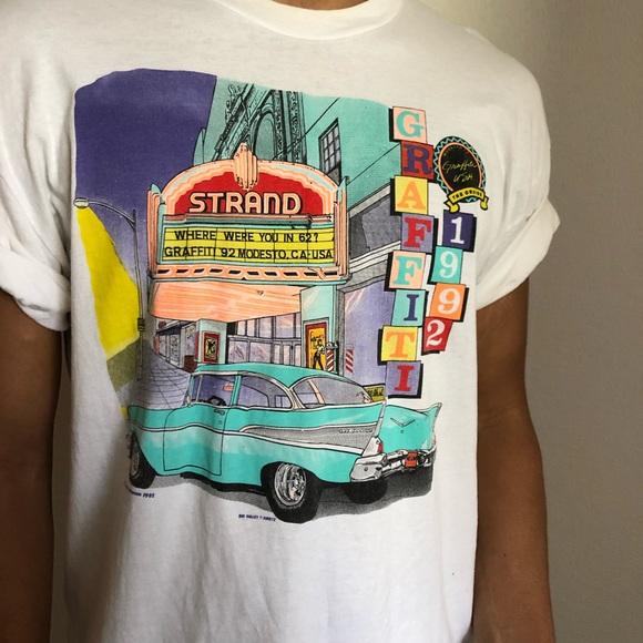 ff3df623 Vintage Shirts | 90s American Graffiti Car Show Tshirt Xl | Poshmark